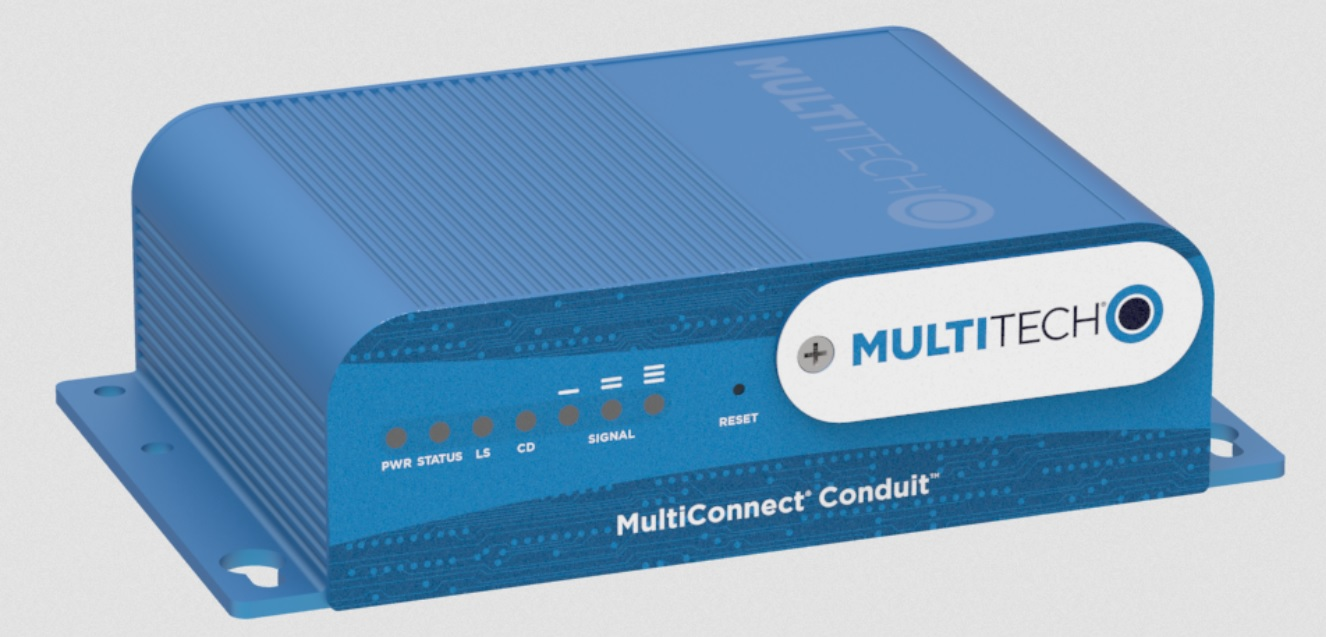 Multi-Tech Conduit (AEP and mLinux)